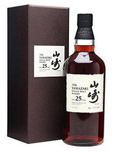 Yamazaki 25 year old whisky